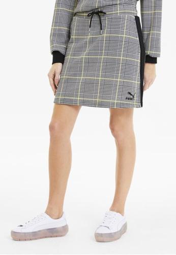 puma black Recheck Pack Women's Mini Skirt 87274AAFA0B426GS_1