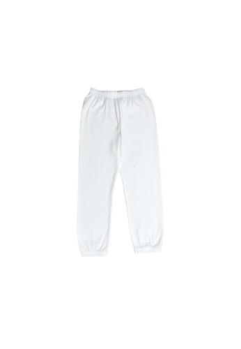 Little Kooma white Kids Plain White Long Pants E2ED5KA15BC1A1GS_1