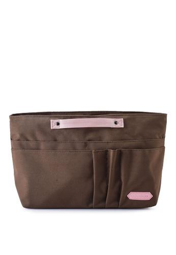Bagstationz brown SC Premium Organizer Bag 888A4ACF7663FFGS_1