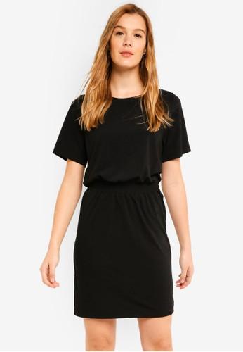 ICHI black Soon Dress 347E3AADDCB76BGS_1