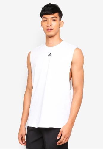 adidas 白色 adidas id jersey tank top 1FC6DAAC2A3AC5GS_1