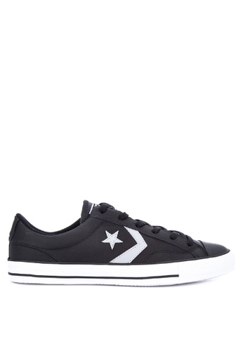 Converse black Star Player Gameday Leather Sneakers DAE72SHCCB3906GS_1