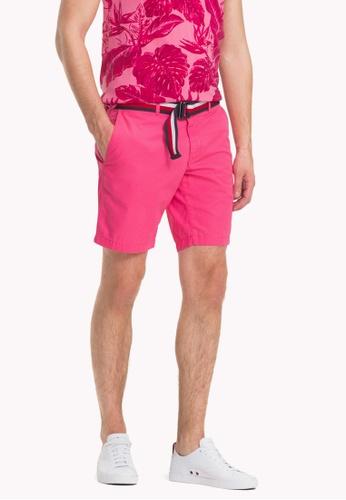 Tommy Hilfiger pink REGULAR BROOKLYN SHORT LT TWL FEC94AA7852406GS_1