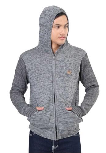 Sogno grey Jaket Rajut Pria KIL KZR 287 F80C5AA89E631FGS_1