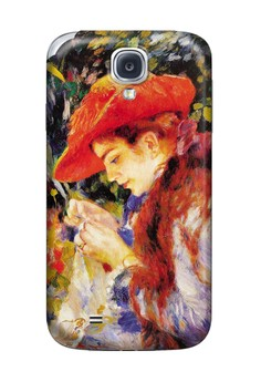 Madamoiselle Sewing Matte Hard Case for Samsung Galaxy S4