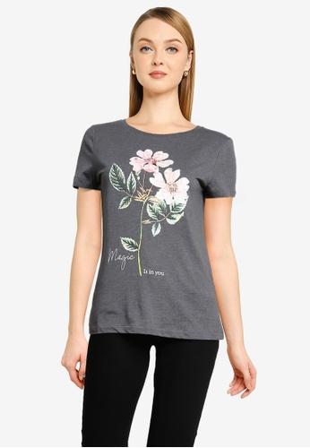 Springfield grey Magic Is In You T-Shirt CB3DAAAD6736DEGS_1