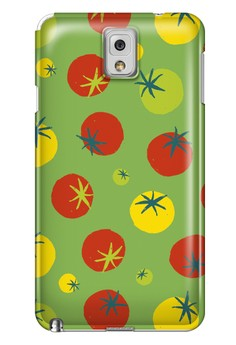Tomatoes Glossy Hard Case for Samsung Galaxy Note 3
