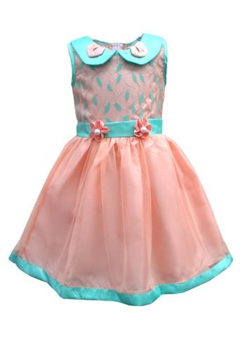 TWO MIX orange Two Mix Baju Bayi Pesta Cewek - Dress Pesta Bayi Cewek 4047 A836EKA96741B8GS_1