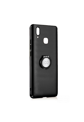 MobileHub black Xundd Earl X-Ring Series Ultra Slim Back Case For Vivo Y85 7ACC1ACA4A1D44GS_1