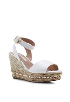4cd42c209f56 Dorothy Perkins White Rhode Godess Wedges S  73.90. Sizes 3 4 5 6 7 · Nose  black Metallic Raffia Wedge Sandals CC0DESH5B4247AGS 1