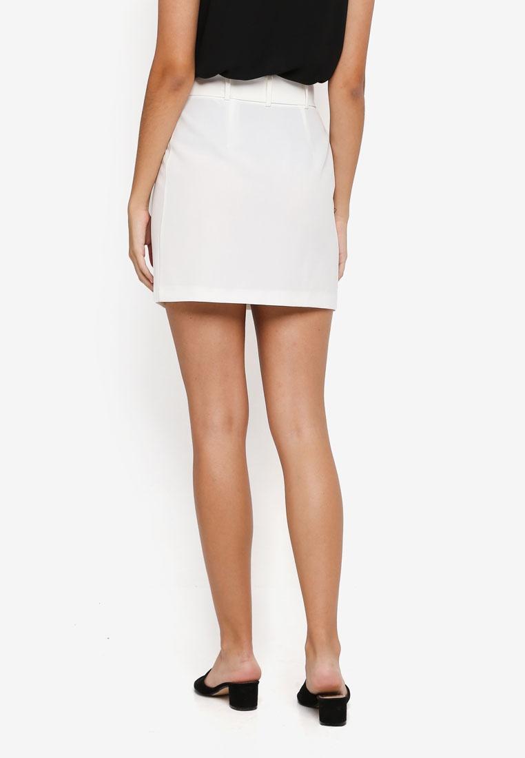 Cream Self Selfridge Skirt Buckle Miss Paperbag Y8nU5S