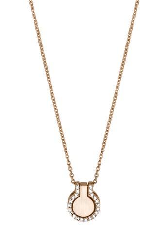 Esprit gold ESPRIT [Fuse] RoseGold Sterling Silver Necklace (42 cm + 3 cm extension) DF888ACB90DEF3GS_1