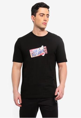 Cotton On black Street T-Shirt 84726AAC244FD2GS_1