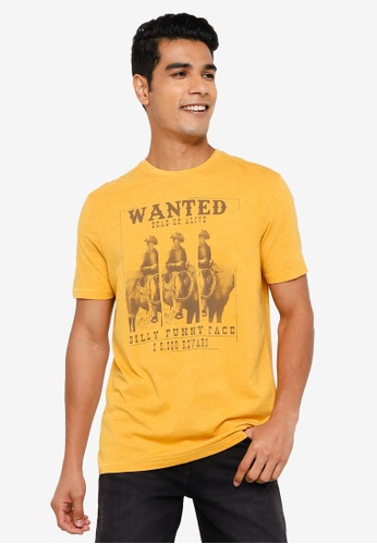 Springfield gold Photo Print T-Shirt 054DBAAA3651E9GS_1