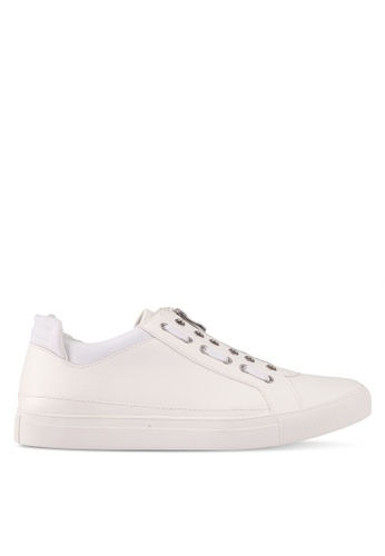 ZALORA white Contemporary Zip Up Sneakers 22187SHE7B1706GS_1
