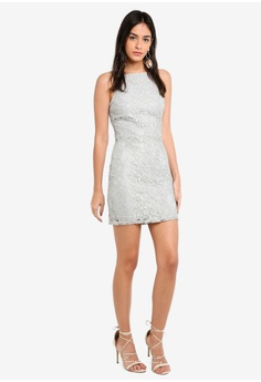 b03802c5f2b 51% OFF MISSGUIDED Lace Square Neck Bodycon Dress S  74.90 NOW S  36.90  Sizes 14