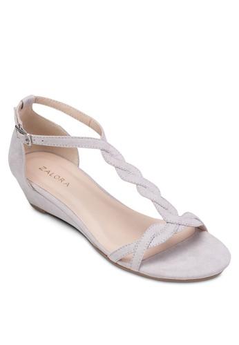 T-Strap Wzalora taiwan 時尚購物網edge Sandals, 女鞋, 鞋