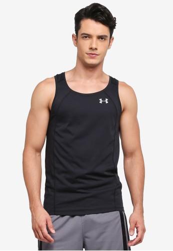 Under Armour black Threadborne Swyft Singlet T-Shirt UN337AA0SU8GMY_1