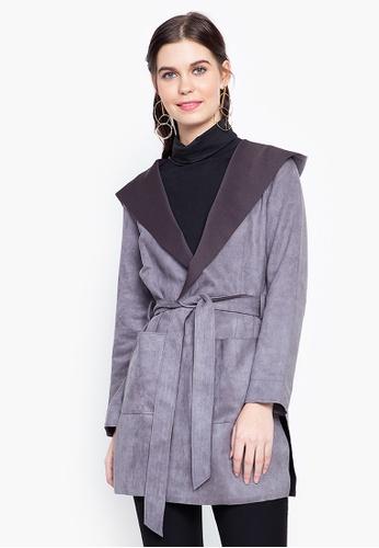CLN grey Blossom Jacket 2E8D3AA59548A4GS_1
