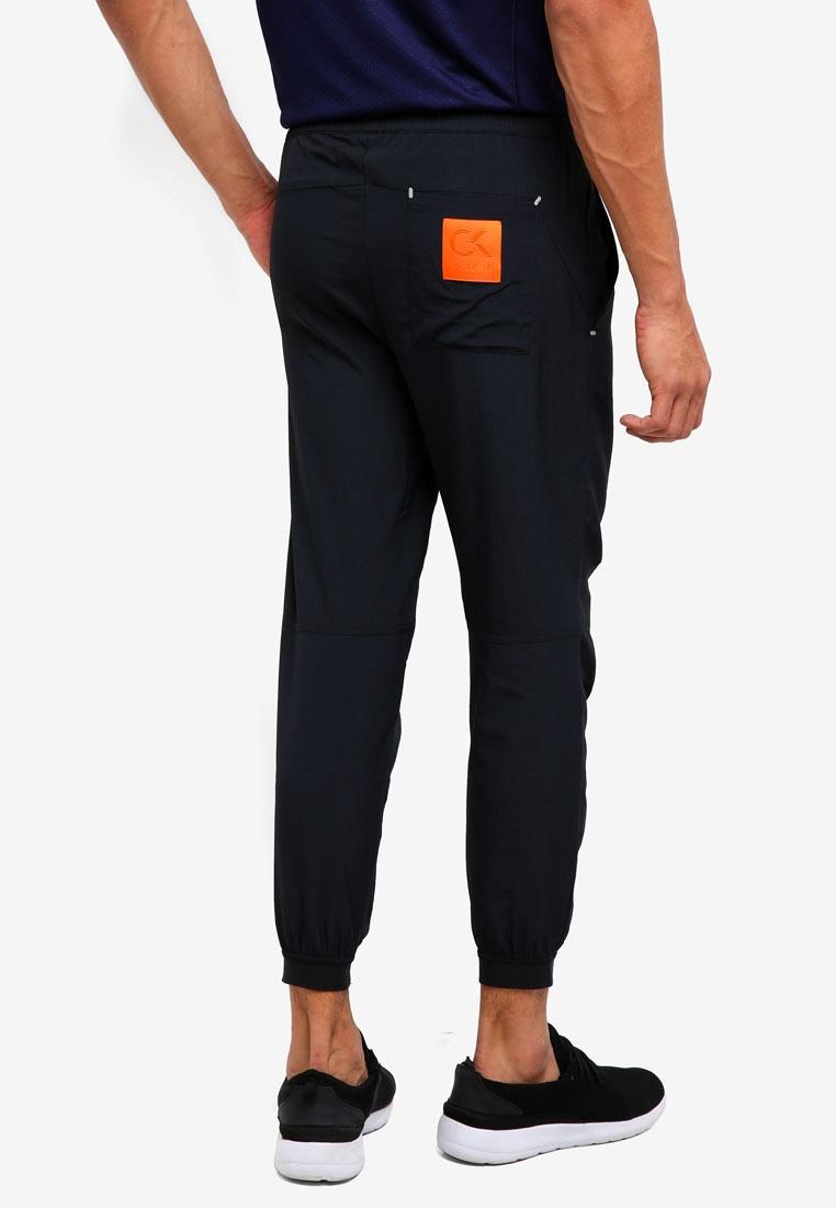 Klein Performance Patch Woven Logo Pants Black Calvin CK Calvin Klein gd0ZwHXWq