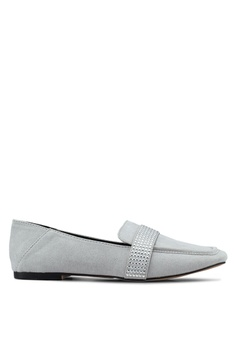8d5dc3cbc6f683 TOPSHOP grey Louisiana Loafers D8D8ESH41AC79FGS 1