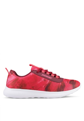 Power 紅色 Power Women Athletic Casual Shoes D2D7BSH32C345BGS_1