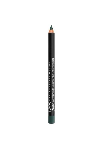 NYX Professional Makeup black NYX Professional Makeup Suede Matte Lip Liner - SMLL 72 -SHAKE THAT MONEY 67EBBBEA0BA0B3GS_1
