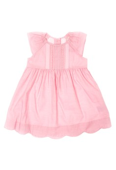 Infant Butterfly-Sleeves Dress