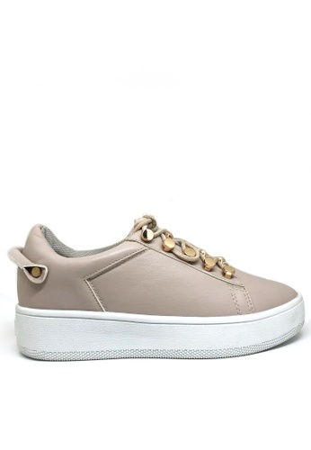 Twenty Eight Shoes 金屬釦厚底運動鞋T8296-318 419F5SH4BA5B84GS_1