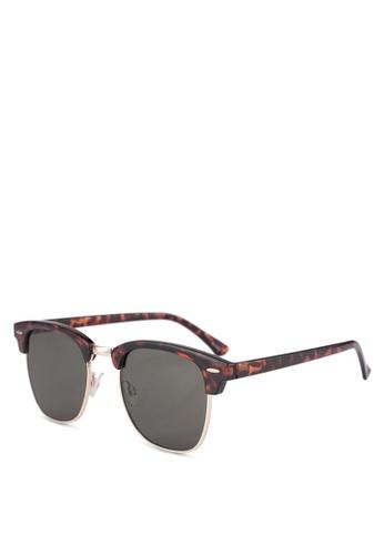 ALDO brown Gehle Sunglasses/Club Master 492A6GLBD9A714GS_1