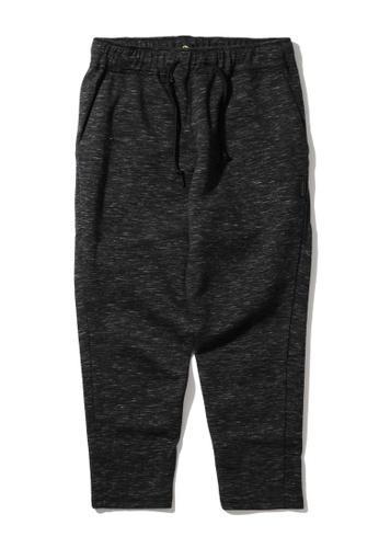 Fingercroxx black Jersey sweatpants 581B4AA71F7C8AGS_1