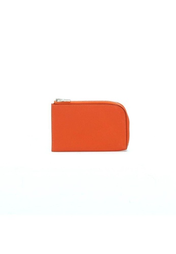 HERMÈS orange Pre-Loved hermès Hermes Coin Case in Orange 1F210AC4C299C8GS_1