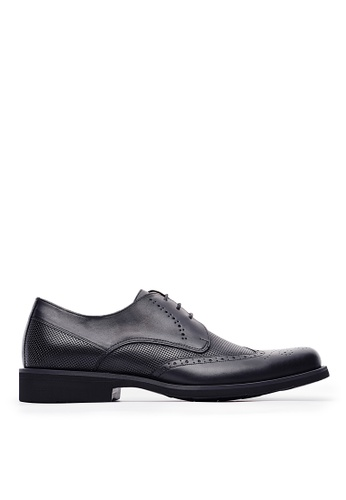 Life8 black Formal Lightweight Leather Oxford Shoes-Black-09760 A53DFSH7ECB849GS_1