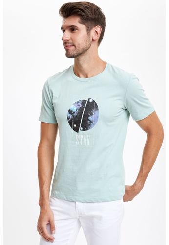 DeFacto blue Man Knitted T-Shirt 99F68AA6570808GS_1