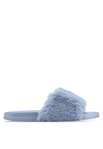 Rubi 藍色 質感涼鞋 9E4C1SH520A9A0GS_1