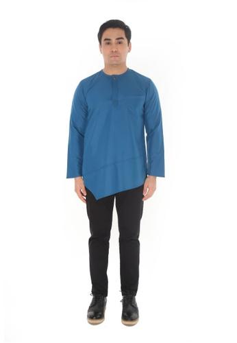 Amar Amran blue Kurta Al Fattah 2.0 19694AA9FC0A9BGS_1