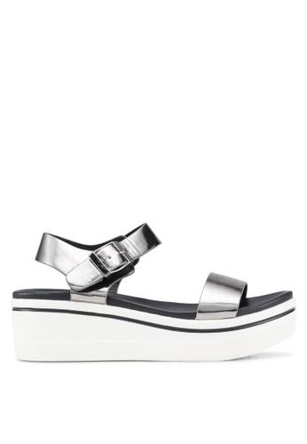 Carlton London 灰色 Priscilla 楔型鞋 77E9BSH53807F5GS_1