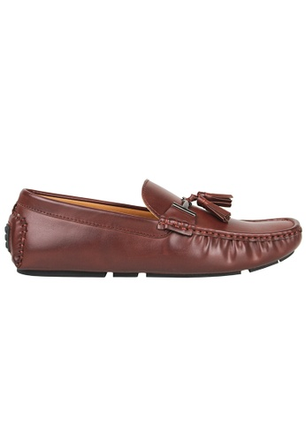 Tomaz brown Tomaz C004B Buckled Tassel Loafers (Brown) 0A875SH7ACBF21GS_1