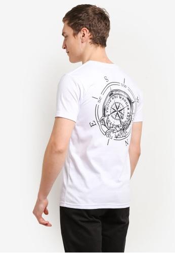 Graphite white Wanderer T-Shirt GR677AA0SC9YMY_1
