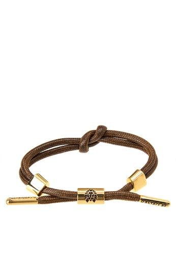 Rastaclat brown Knotaclat Bracelet: Carter Jewelry RA072AC0KK2DPH_1