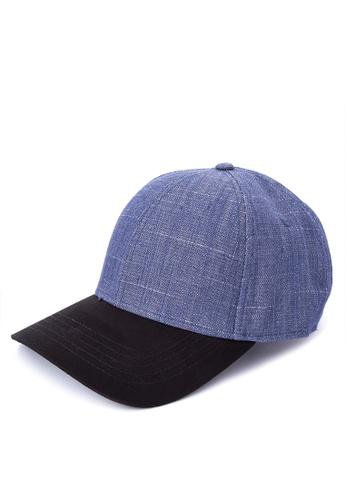 Penshoppe blue Denim Baseball Cap 7A9FBAC5BA6069GS_1