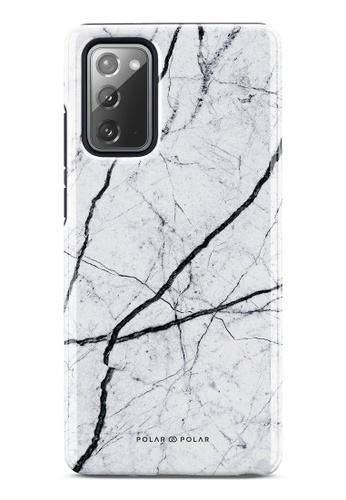 Polar Polar white Classic White Dual-Layer Tough Case Glossy For Samsung Galaxy Note20 5G 1FA21ACA53AD1DGS_1