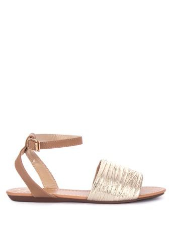 28660fa529d Shop Sofab! Vince Flat Sandals Online on ZALORA Philippines