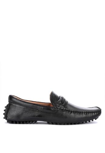 Alberto black Genuine Comfort Loafers CDAFDSH060A868GS_1