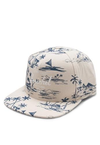 Whaler 品牌印花棒球帽, 飾品配件zalora 台灣門市, 帽飾