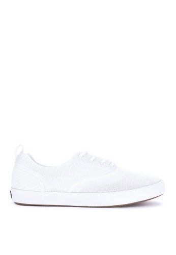 Sperry white Paul Sperry Vulcanized Flex Deck Cvo Mesh Sneakers SP132SH69SXUMY_1