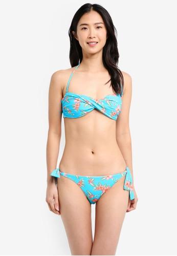 Yshey blue Alice Southern Sea Bikini Set YS681US0SRA6MY_1