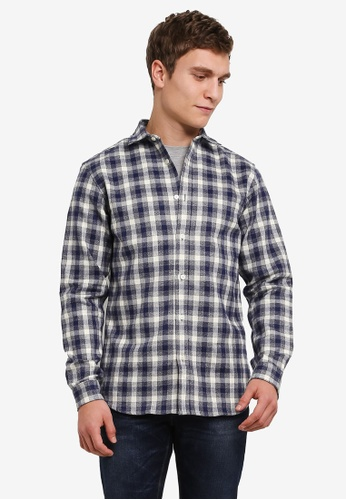 Selected Homme blue Twogunnar Shirt SE364AA0S3WKMY_1