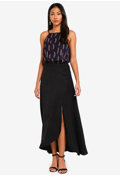 8356294aeed9 17% OFF ZALORA BASICS Basic Asymmetric Maxi Skirt S$ 29.90 NOW S$ 24.90  Sizes XS S M L XL