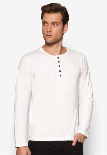 亨利長袖衫, esprit台灣outlet服飾, T恤